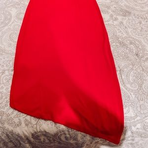 Express Dresses - Express Red Form Fitting Dress